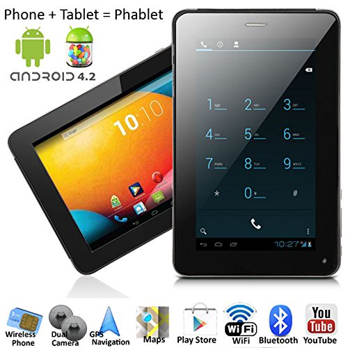 inDigi 7in Mega Android 4.2 SmartPhone Phablet Tablet PC w/ Google Play Store by inDigi