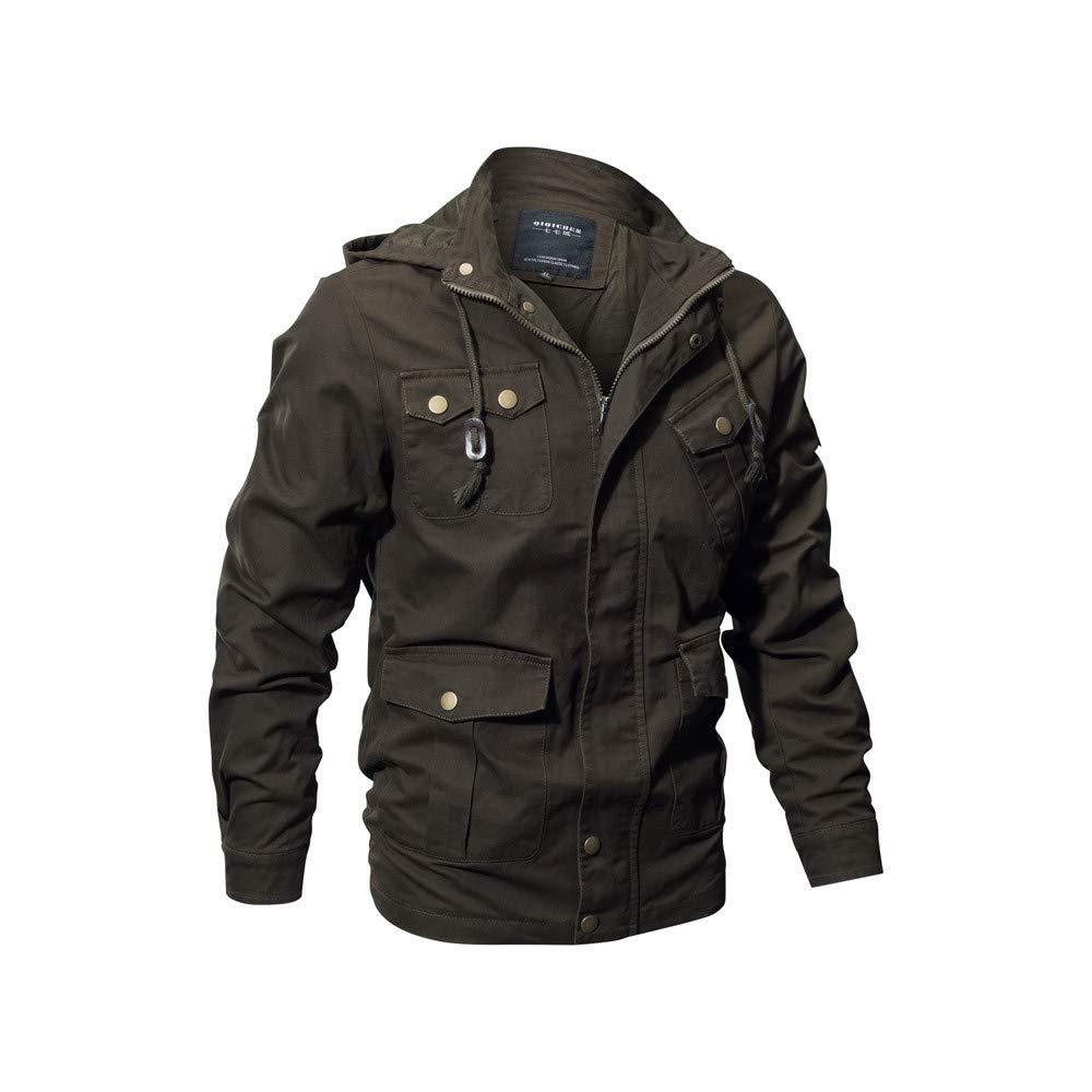 iLXHD Jacket Coat Military Tactical Outwear Breathable Light Windbreaker