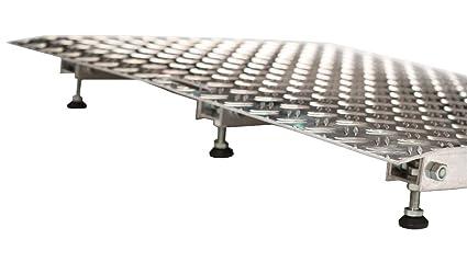 fabacare Premium Rampa aluminio, Mobile (con mango y silla ...