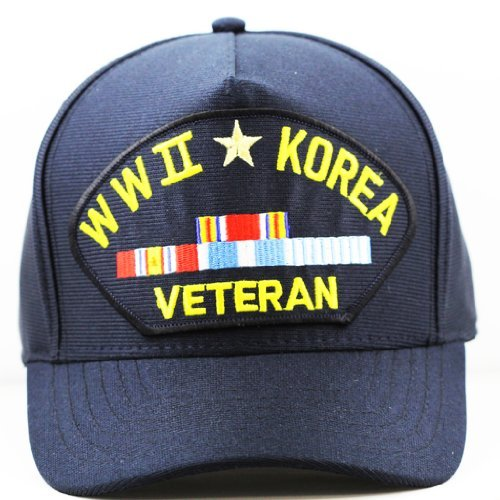 WWII-Korea-Veteran-Hat-For-Men-and-Women-Military-Collectibles-Caps-and-Apparel