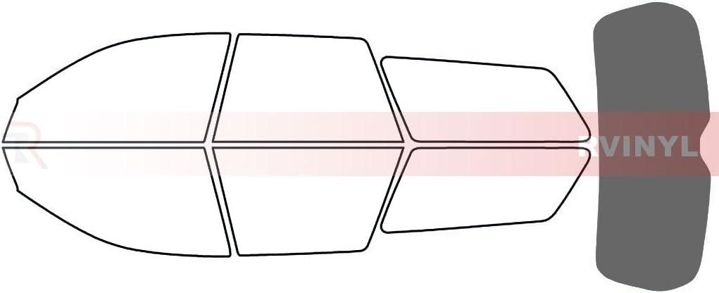 Wagon 5/% Rtint Window Tint Kit for Subaru Outback 2005-2009 - Complete Kit