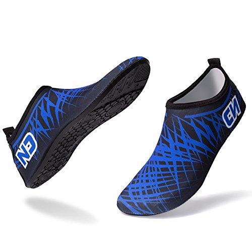scarpe scarpe uomini antislittamento spiaggia e nudi Piscina i Colore donne 1 scarpe respira morbide piedi da Lucdespo 50tAxOqwq