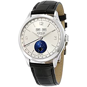 Montblanc heritage chronometrie quantieme complet vasco da gama automatic mens watch for Vasco watches