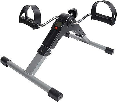HSRG Ejercitador Plegable con Pedal, Mini pedaleador de Bicicleta ...