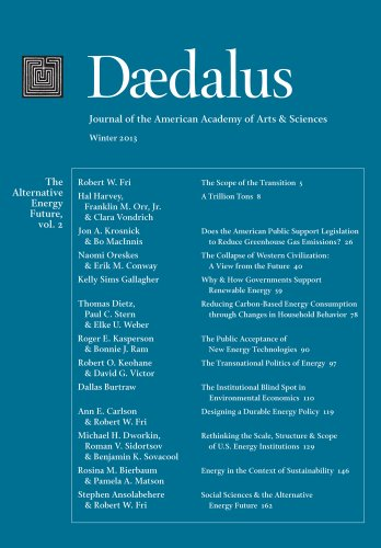 Daedalus 142:1 (Winter 2013) - The Alternative Energy Future, vol. 2