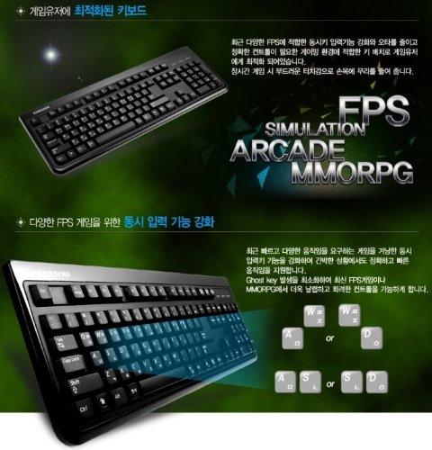 51GpZTqma1L - SAMSUNG-USB-Keyboard-Korean-English-SKG-3000UB-for-Gaming-PC-Desktop-Laptop-Netbook