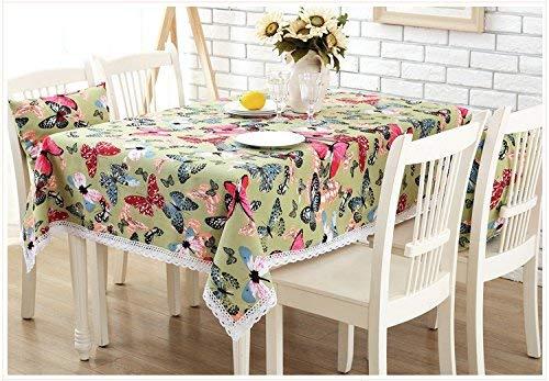 Mantel duradero para mesa de comedor, estilo pastoral europeo ...