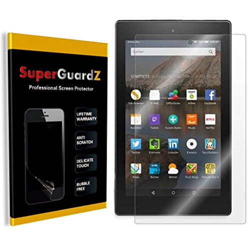 [4-PACK] For Kindle Fire HD 6 (4th Gen, 2014 Release) - SuperGuardZ® Screen Protector, Anti-Glare, Matte, Anti-Fingerprint, Anti-Scratch, Anti-Bubble [Lifetime Warranty] (Fire Hd6 Warranty)