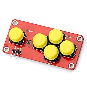 Back To Search Resultscomputer & Office 10 Pcs Ad Keyboard Simulate Five Key Module Analog Button For Arduino Sensor Expansion Board 3d Printer Parts & Accessories