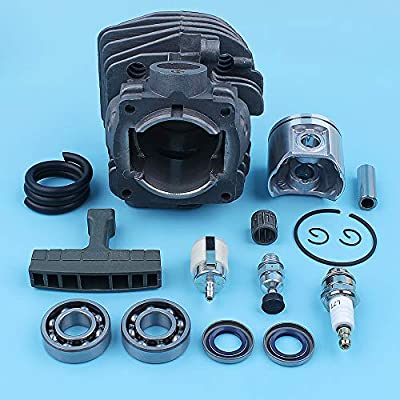Water Hep Plated Cylinder Piston Kit for 357Xp 357 359 Chainsaw 537157302 537248502 Crank Ball Bearing Spare Part