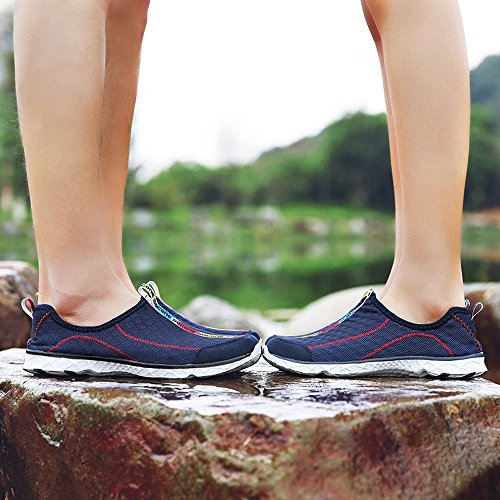1bfa709dbc056a FEETMAT Women s Breathable Mesh Slip On Walking Casual Water Shoes