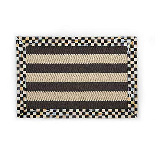 MacKenzie-Childs Stripe Wool/Sisal Rug - 2' x 3'