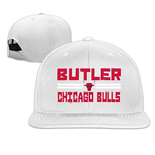 Custom Unisex Jimmy Player Butler Adjustable Baseball Cap Hats White