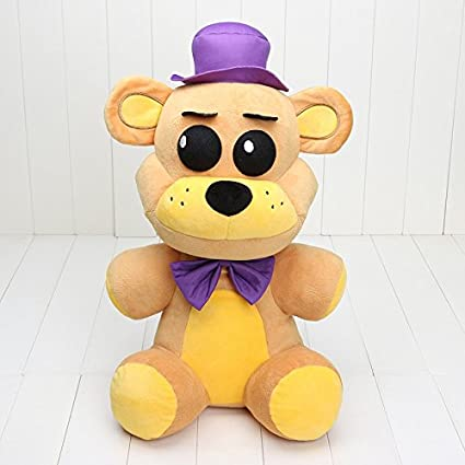 Amazon Com Five Nights At Freddy S Fnaf Plush Toy Foxy Freddy Fazbear Big Size Bonnie Mangle Foxy Chica Plush Doll Children Toy 3 Toys Games