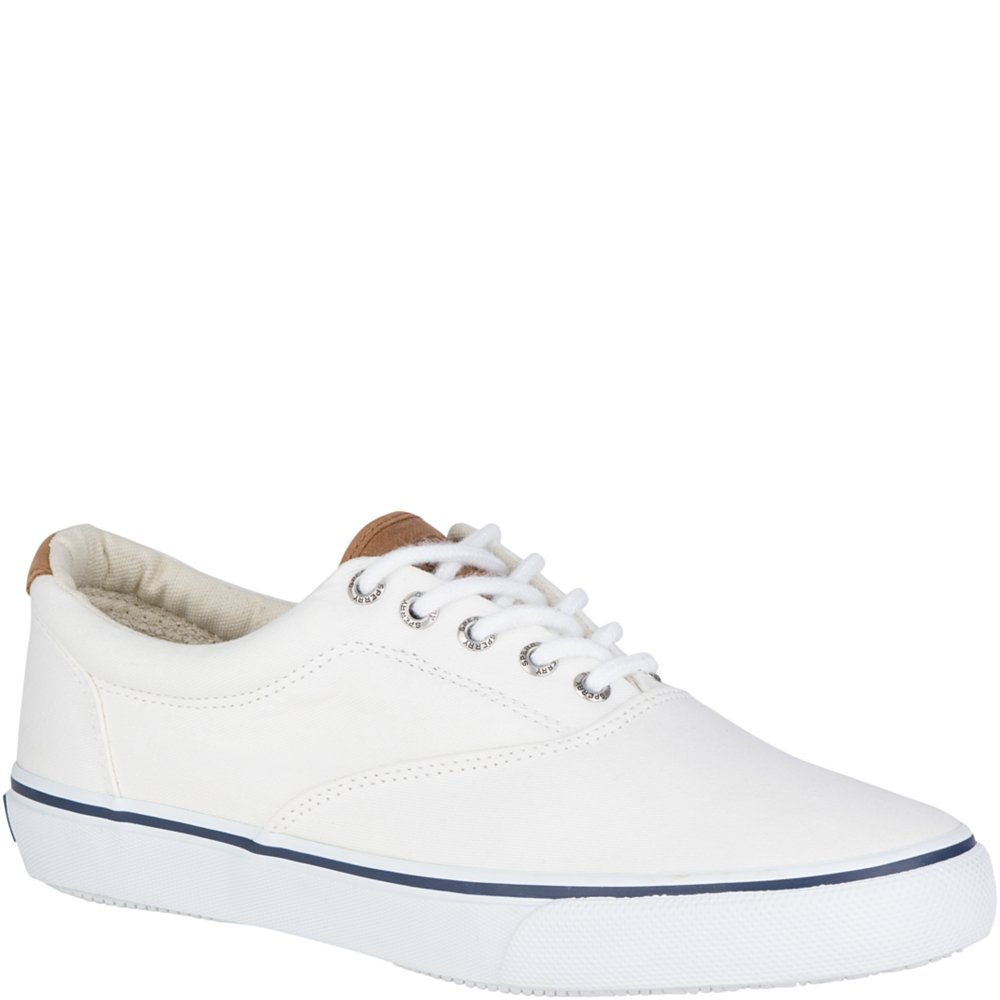 sperry top sider men s white boat shoe 1048032 size 15 m ebay