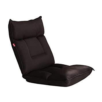 Amazon.com: Floor Chair Folding Adjustable Gaming Couch with ...