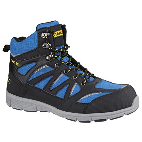 Stanley Mens Pulse Sport Slip Resistant S1 P SRC Safety Boots Royal Blue