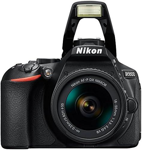 51GpeBBb3GL. AC  - Nikon D5600 Digital SLR Camera & 18-55mm VR DX AF-P Lens - (Renewed)
