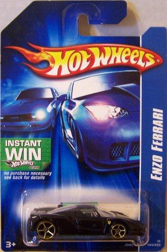 #2006-194 Enzo Ferrari Black Collectible Collector Car Mattel Hot Wheels 1:64 Scale Collectible Die Cast Car