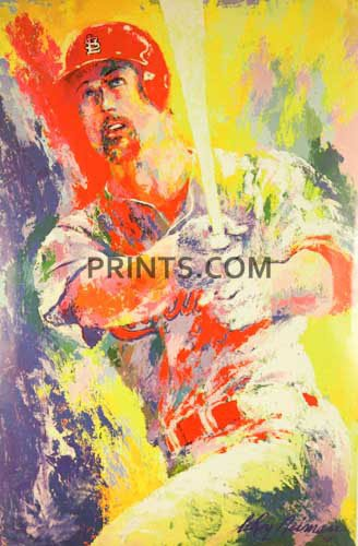 Sports Mark Mcgwire Hand Signed (LEROY NEIMAN Mark McGwire Hand Signed by LAST ONE!)