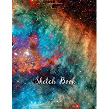 Sketch Book: Notebook for Drawing, Writing, Painting, Sketching or Doodling, 120 Pages, 8.5x11 (Premium Abstract Cover vol.57)