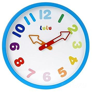 9a378b144178 Colourido reloj de pared infantil Lulu
