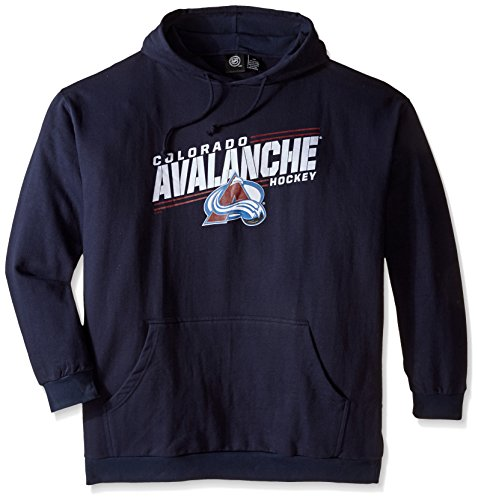 Fleece Colorado Avalanche Pullover (NHL Colorado Avalanche Men's Avalanches Fleece Pullover Hoodie, 4X,)