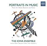 #3: Portraits in Music - Works for Oboe, Bassoon and Piano | Baldwin, Bush, Griebling-Haigh, Mahle and Vallon