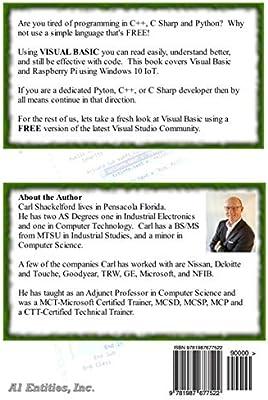 Raspberry Pi 3 & Visual Basic: Programming Windows Iot Core