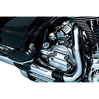 Kuryakyn 6950 Transmission Shroud/Covering for 2009-16 Harley-Davidson Touring & Trike Motorcycles with Stock Head Pipes, Chrome: Automotive