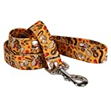 Yellow Dog Design Chipmunks Dog Leash 3/4'' Wide and 5' (60'') Long, Small/Medium