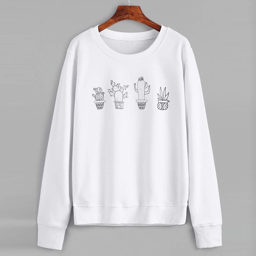 Naturazy Sudaderas Mujer Camisa Blusa Elegante Camiseta T-Shirt Sudadera con Capucha Y Estampado De Sudadera con Capucha Y Estampado SóLido: Amazon.es: Ropa ...
