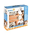 Safety1st - Doors and Drawers Childproofing Kit - 24 Pieces, White