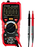 Auto-Ranging Digital Multimeter True RMS 6000 Counts Electrical and Continuity Tester Voltage Detection with a Lighter Diode and Resistance Test Live Line with Lcd Backlight