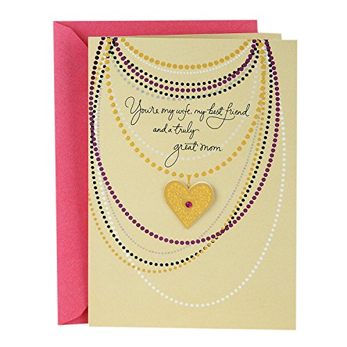 Hallmark Mother's Day Greeting Card for Wife (With All My Heart)