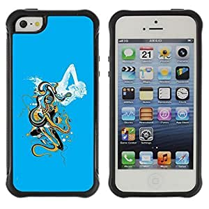 fashion Case / Abstract Cloud Art / Apple iPhone 5 / 5S