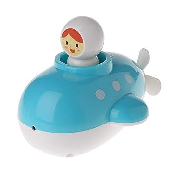 JAGENIE Baño de Bebé Juguete Mecanismo Flotador Aerosol Ducha Submarino Niños Jugar Juegos de Agua Regalo Regalo de Bebé: Amazon.es: Hogar