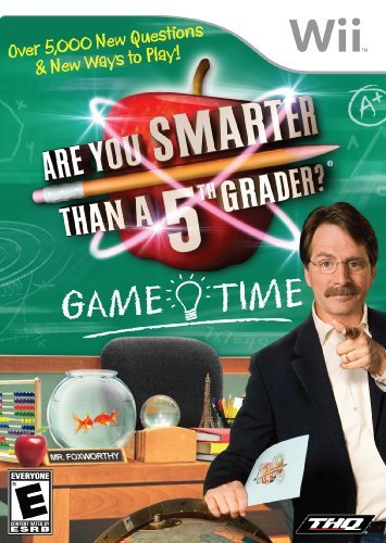 Are You Smarter Than a 5th Grader: Game Time - Nintendo Wii by THQ ()