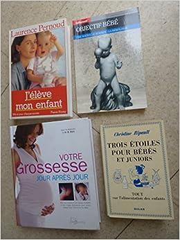 Amazon Fr Lot De 4 Livres Sur La Grossesse Bebe Enfant