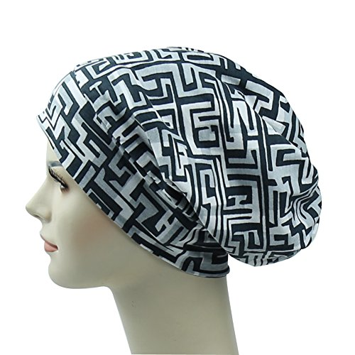 Sleep Cap Trip Beanie Picnic Slouchy Bonnet Hat Stylish Headwear - Ladies Moisture Free Pique