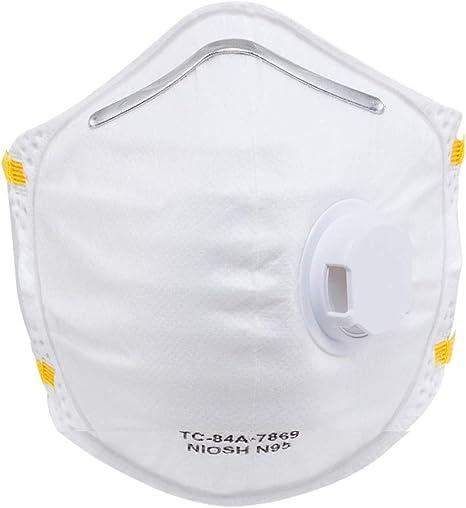 Foldable Masks Disposable amp; Niosh-certified Amston N95 Dust -