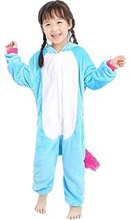 ad404ed9a5 Amazon.com  JYUAN Unisex Adult Animal Onesie Pajamas Unicorn Cosplay ...
