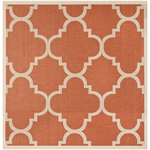 Safavieh Courtyard Collection CY6243-241 Terracotta Indoor/ Outdoor