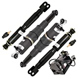 Pair Front Air Shock Absorber Set For Cadillac Escalade & GMC Yukon XL 1500 - BuyAutoParts 75-83261AA New