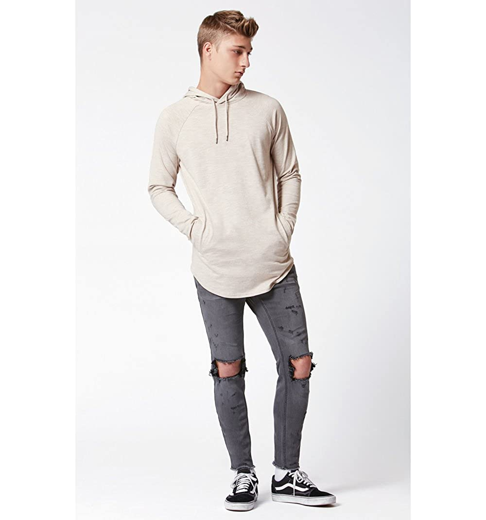 3e0dd00eb Pacsun Mens Emancipation Hooded Long Sleeve Scallop T-Shirt: Amazon.ca:  Clothing & Accessories