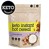 HighKey Snacks Keto Instant Hot Cereal Breakfast - Gluten & Grain Free - Perfect Ketogenic Friendly Food - Low Carb, High Protein - Good for Desserts, Atkins & Diabetic Diets (Cocoa Almond) Larger Image