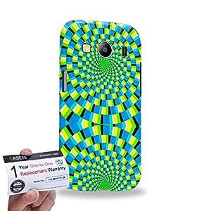 Case88 [Samsung Galaxy Ace 4 LTE G357] 3D impresa Carcasa/Funda dura para & Tarjeta de garantía - Art Fashion Visual Art Effect 27