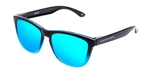 cdb080f613 Hawkers Fusion Clear Blue Gafas de Sol Unisex, Multicolor: Amazon ...