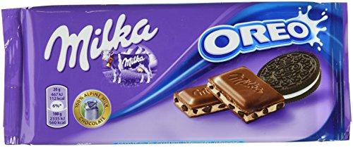 Milka & Oreo 100g (Milk Chocolate w/Oreo pieces 3.5oz)