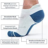 dimok Athletic Running Socks - No Show Wicking